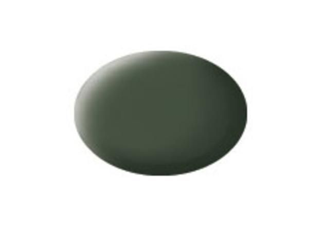 Aqua bronze green matt makett festék Revell 36165