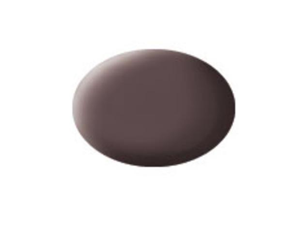 Aqua leather brown matt makett festék Revell 36184