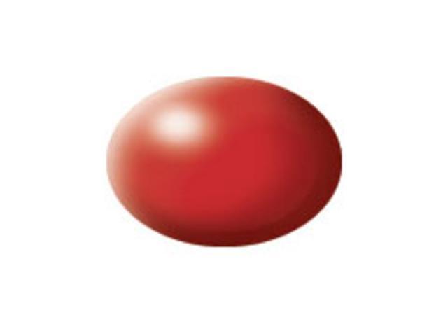 Aqua fiery red silk makett festék Revell 36330