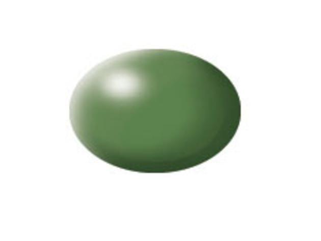 Aqua green silk makett festék Revell 36360