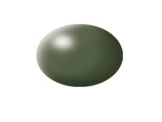 Aqua olive green silk makett festék Revell 36361