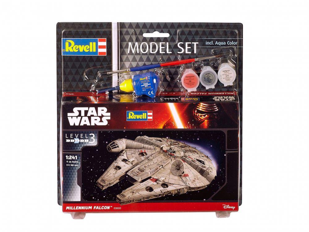 Star Wars szett- Millenium Falcon makett Revell 63600