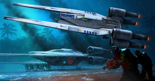 Revell Star Wars Build&Play - Rebel U-Wing Fighter makett 6755