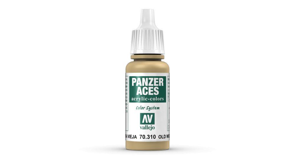 Weathered Wood Panzer Aces festék Vallejo 70310