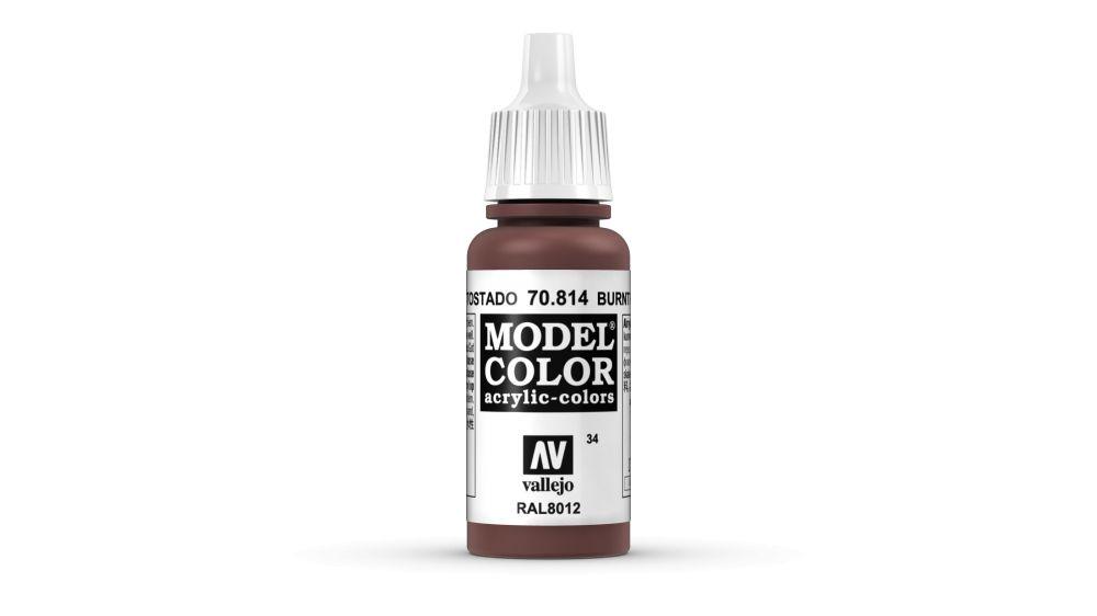 34 Burnt Cadmium Red akrill festék Vallejo 70814