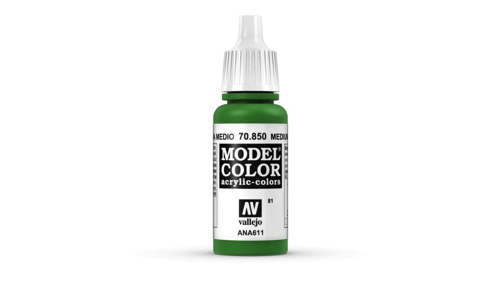 81 Medium Olive akrill festék Vallejo 70850