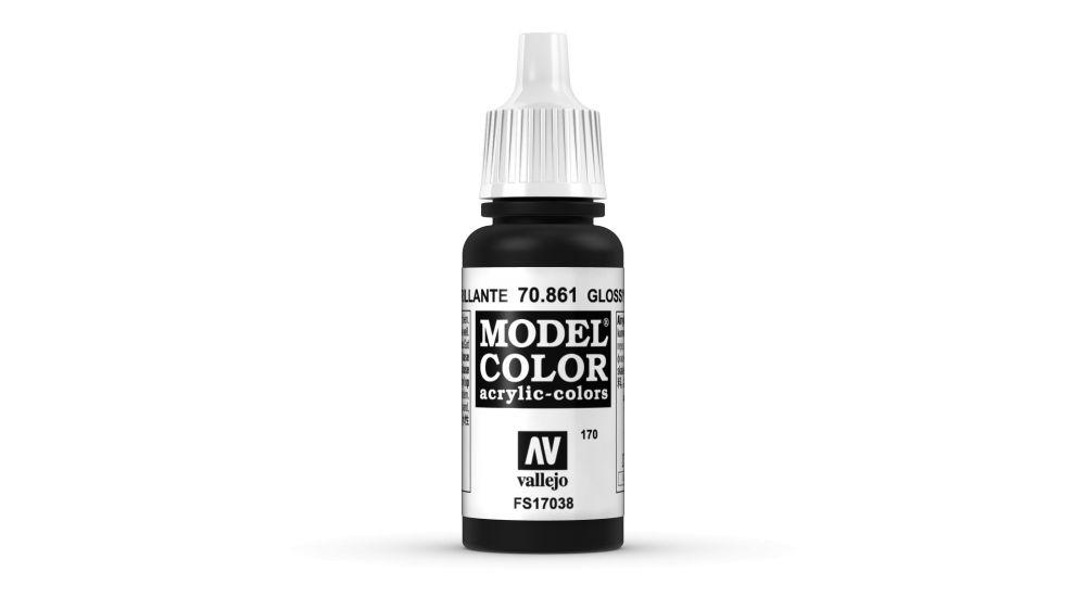 170 Glossy Black akrill festék Vallejo 70861