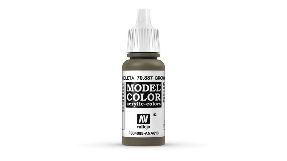 93 Brown Violet akrill festék Vallejo 70887
