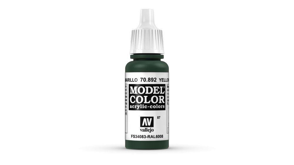 87 Yellow Olive akrill festék Vallejo 70892