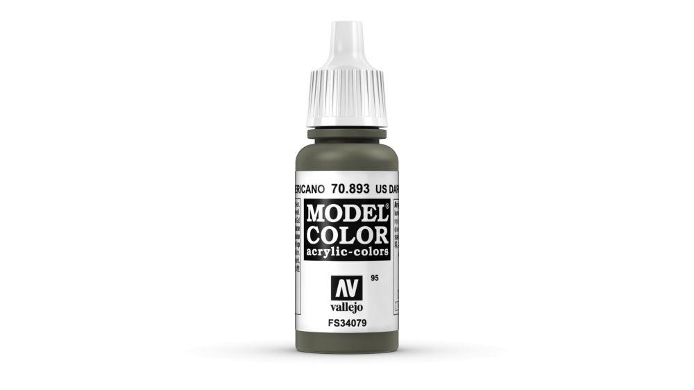 95 U.S. Dark Green akrill festék Vallejo 70893