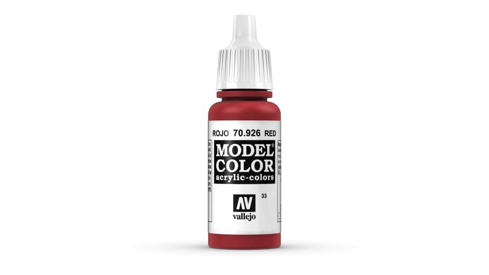 33 Red akrill festék Vallejo 70926