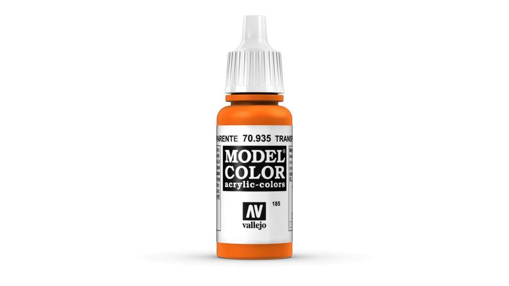 185 Orange Transparent akrill festék Vallejo 70935