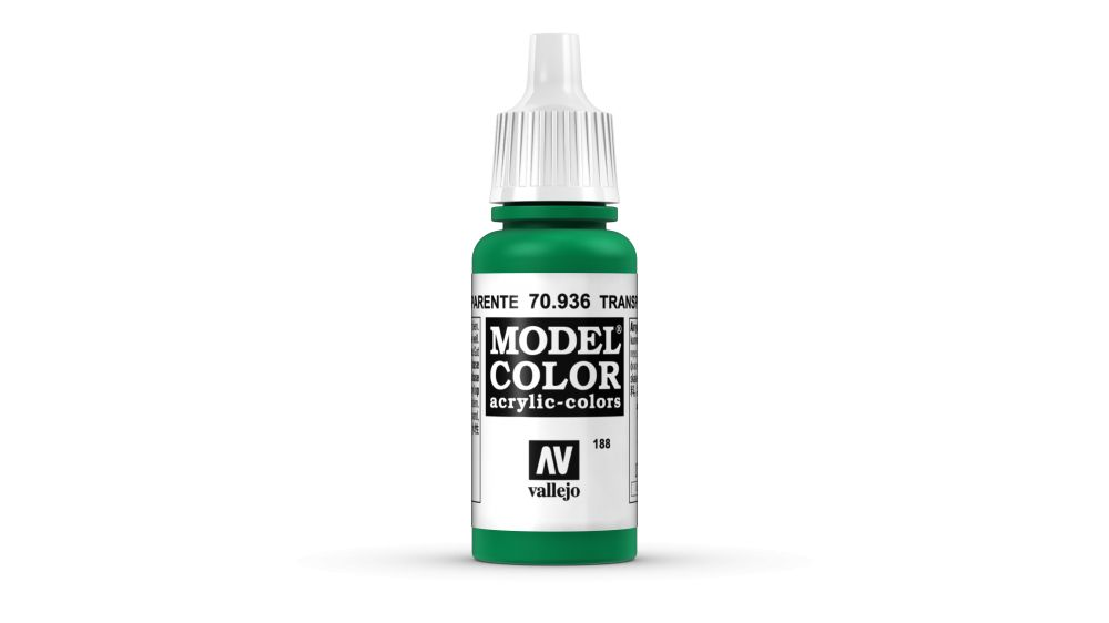 188 Green Transparent akrill festék Vallejo 70936