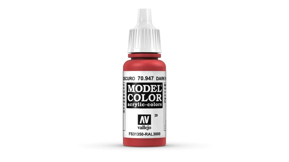 29 Red akrill festék Vallejo 70947