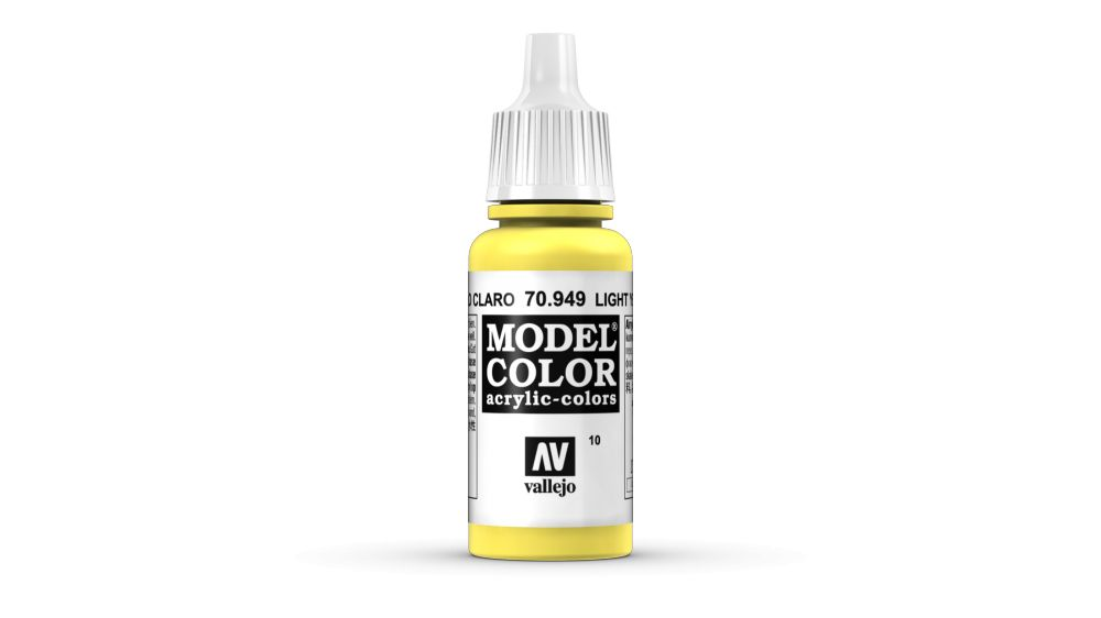 10 Light Yellow akrill festék Vallejo 70949