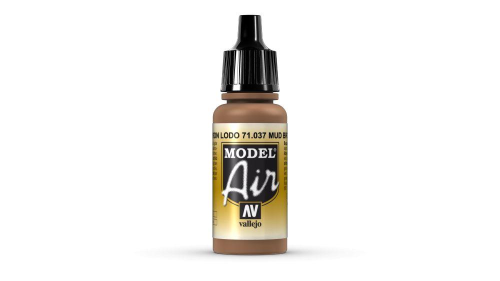 37 Mud Brown akril festék Vallejo 71037