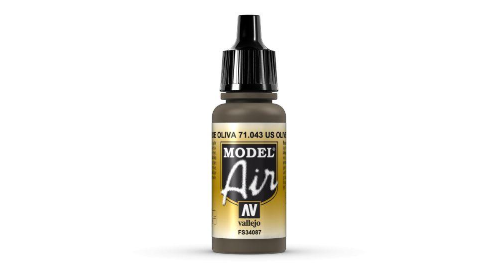 43 Olive Drab akril festék Vallejo 71043