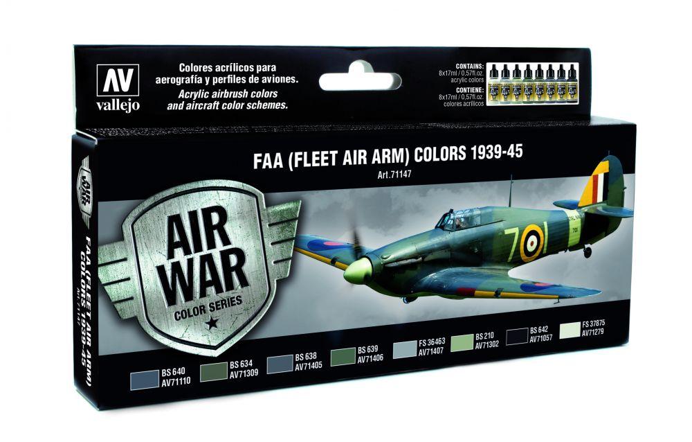 FAA (FLEET AIR ARM) Colors 1939-1945 festék szett Vallejo 71147