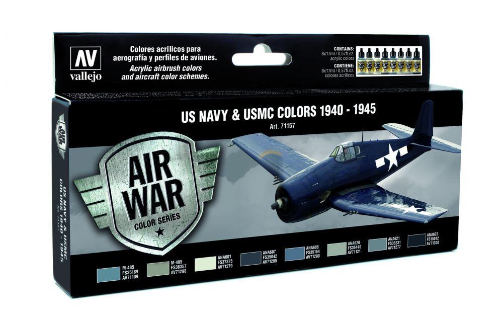 US Navy UMSC colors 1940-1945 festék szett Vallejo 71157