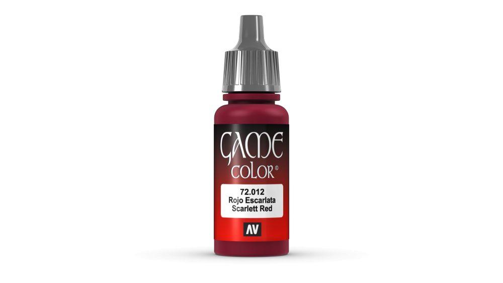 12 Scar Red akril festék Vallejo 72012