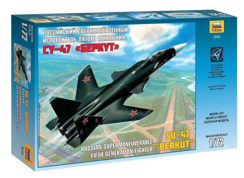 Zvezda - Sukhoi S-47 Berkut repülőgép makett 7215