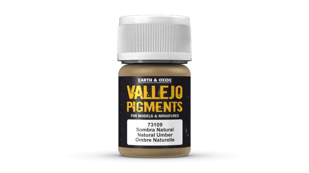 73109 Natural Umber Pigment Vallejo