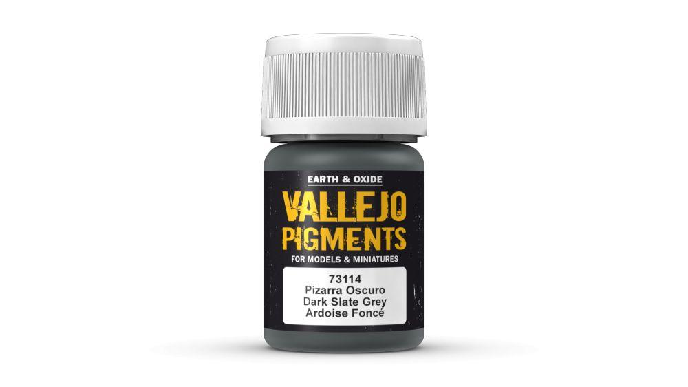 73114 Dark Slate Grey Pigment Vallejo