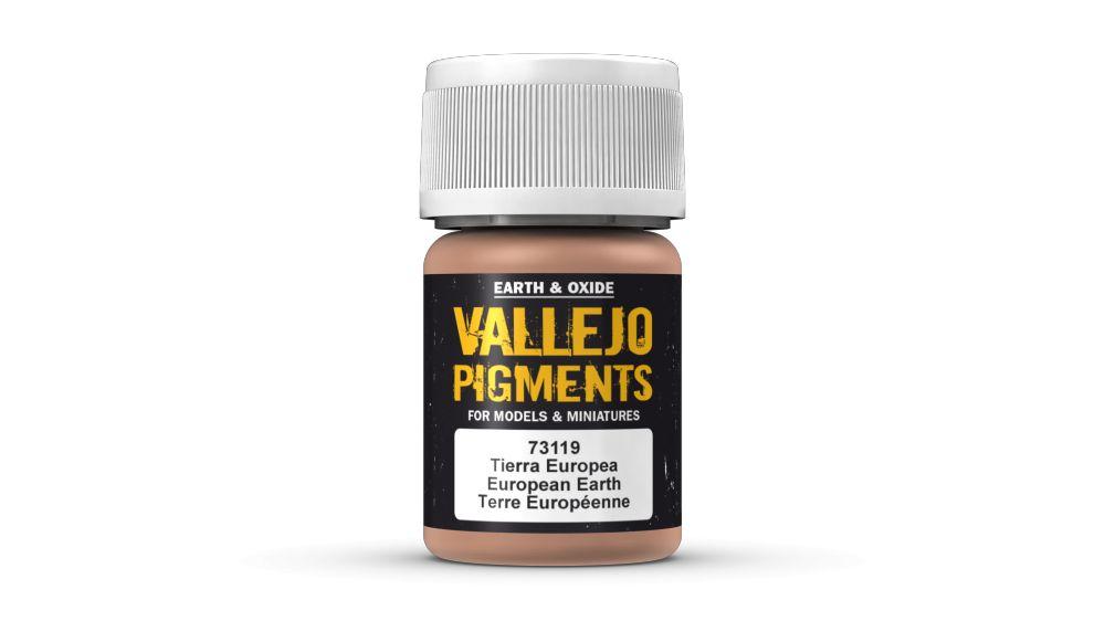 73119 European Earth Pigment Vallejo