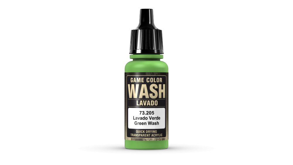 205 Green Wash akril festék Vallejo 73205