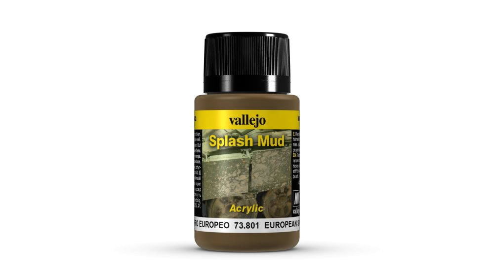 European Splash Mud Weathering Effect Vallejo