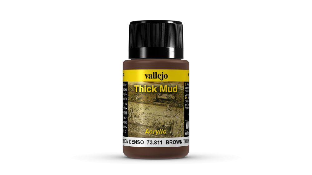 Brown Mud Weathering Effect Vallejo 73811