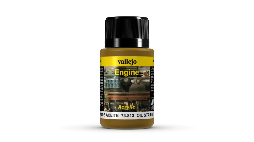 Oil Stains Weathering Effect Vallejo 73813
