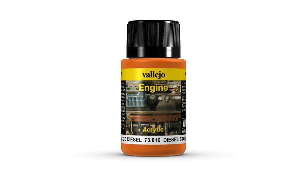 Diesel Stains Weathering Effect Vallejo 73816