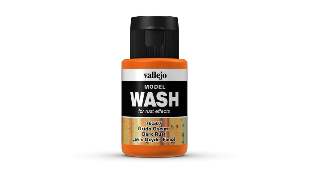Model Wash Vallejo 76507 Dark Rust