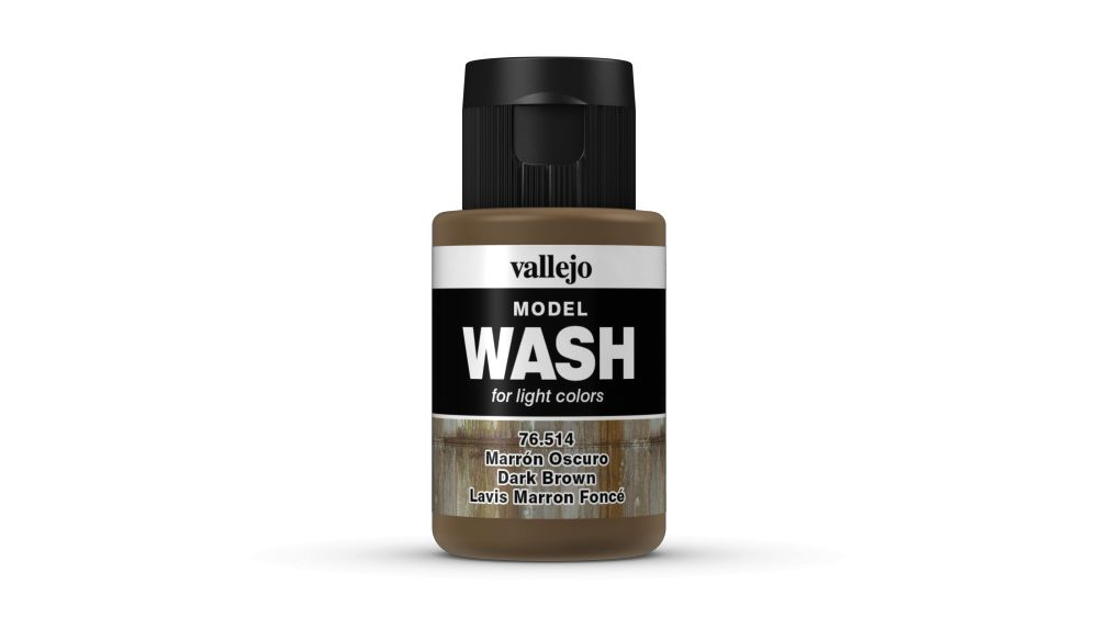 Model Wash Vallejo 76514 Dark Brown
