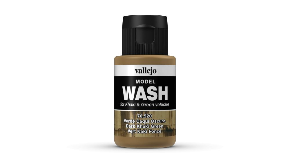 Model Wash Vallejo 76520 Dark Khaki Green