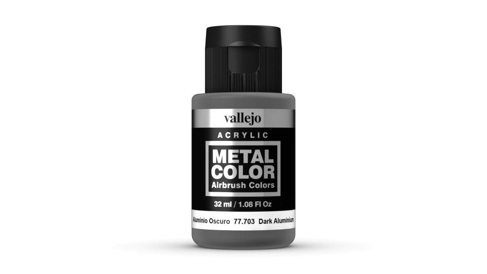 Vallejo Metal Color Dark Aluminium festék 32 ml 77703