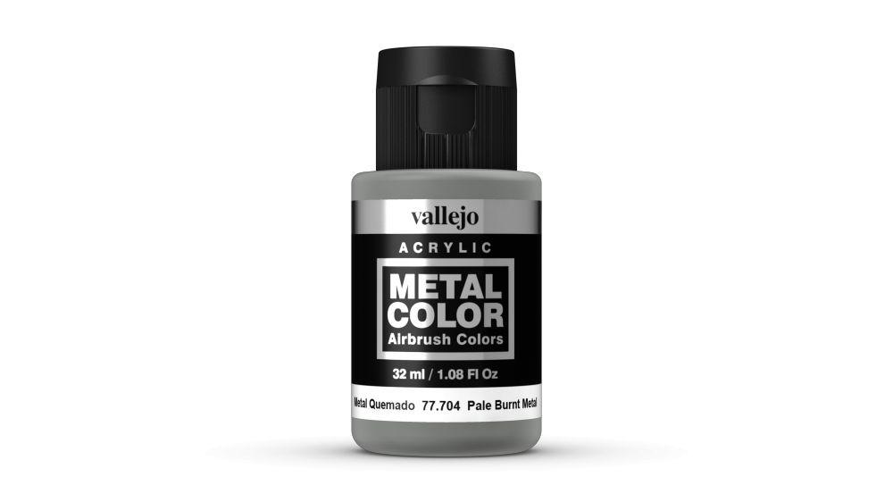 Vallejo Metal Color Pale Burnt metal festék 32 ml 77704