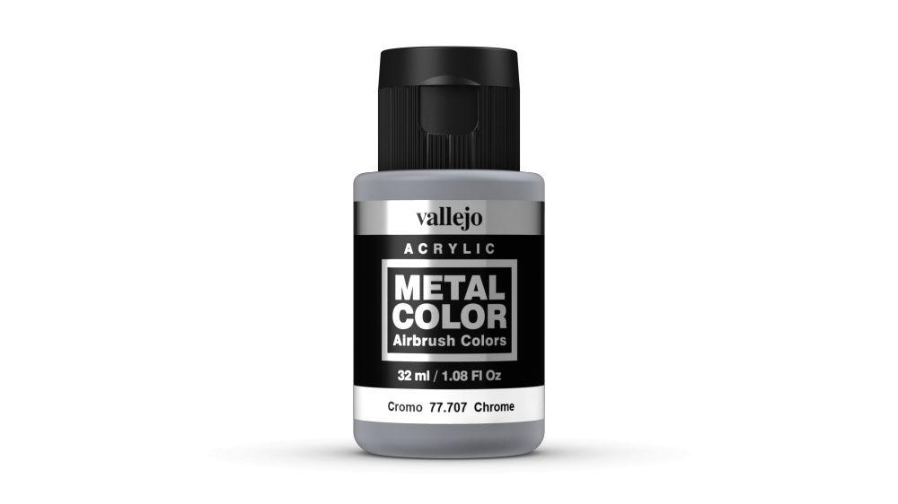 Vallejo Metal Color Chrome festék 32 ml 77707