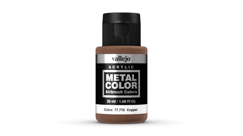 Vallejo Metal Color Copper festék 32 ml 77710