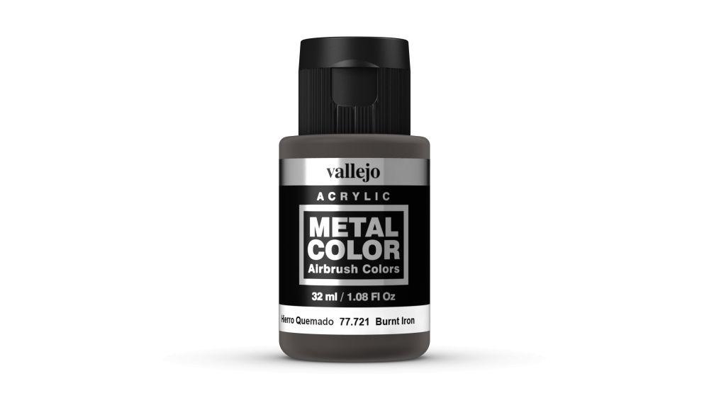 Vallejo Metal Color Burnt Iron festék 32 ml 77721