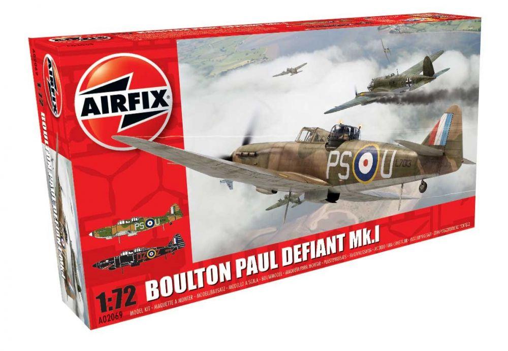 Airfix Boulton Paul Defiant repülő makett A02069
