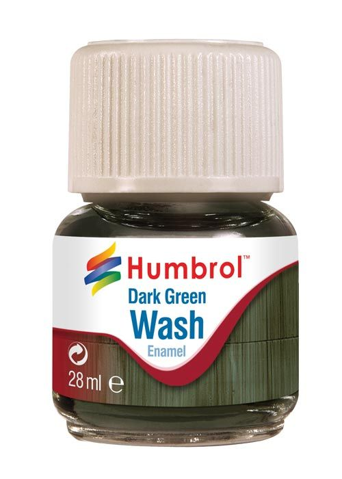 Humbrol Enamel Wash Dark Green AV0203