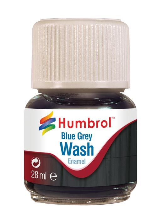 Humbrol Enamel Wash Blue Grey AV0206