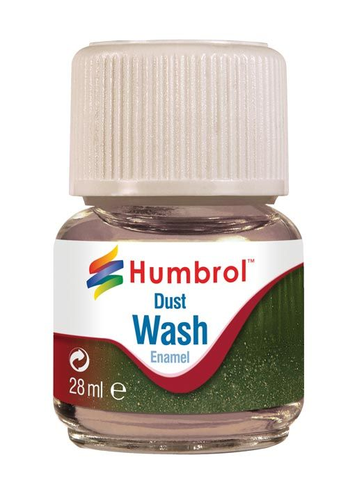 Humbrol Enamel Wash Dust AV0208