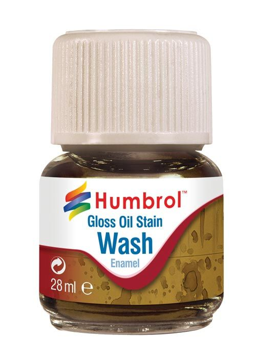 Humbrol Enamel Wash Gloss Oil Stain AV0209